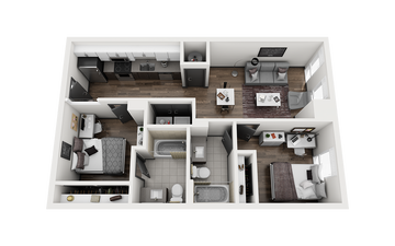 2x2 - FRISCO C Floor Plan Image
