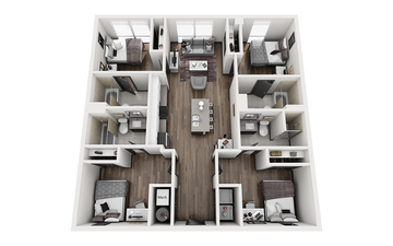 4x4 - BOULDER G *SMART* Floor Plan Image