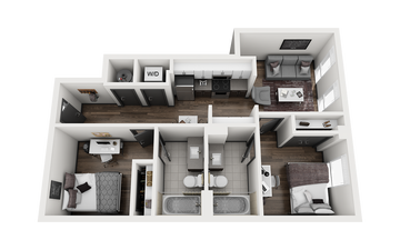 2x2 - FRISCO A Floor Plan Image